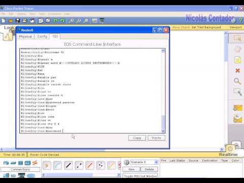 configuracion basica de Router Cisco