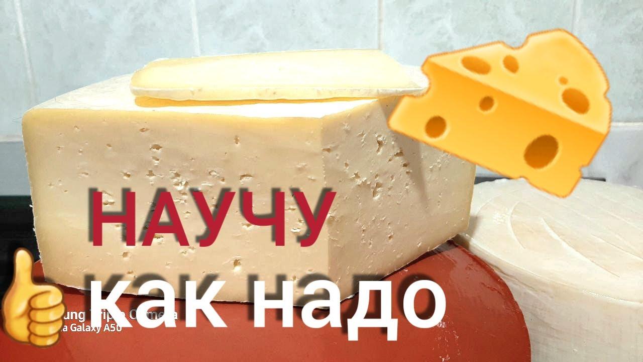 Рецепт приготовления сыра Российский в домашних условиях