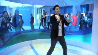 Gootecks vs. Mike Ross... in KINECT DANCE CENTRAL! (CES 2011)