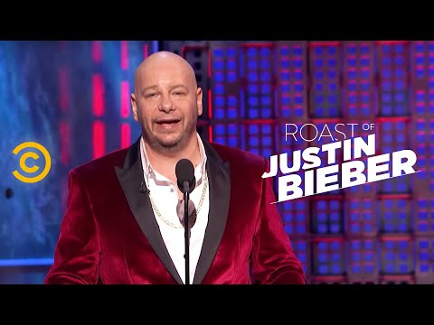Roast of Justin Bieber - Jeff Ross - Justin's Dating History - Uncensored