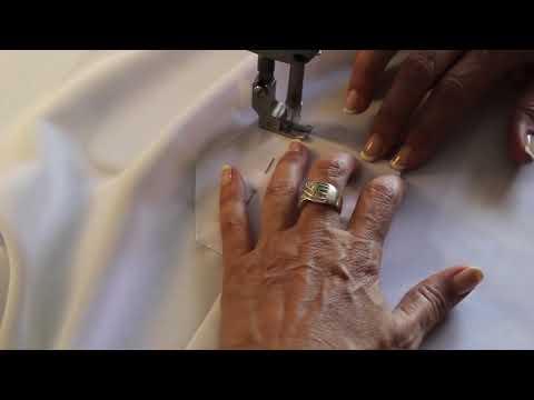 Como hacer y coser una blusa básica blanca