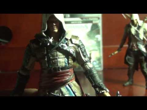 Mcfarlane Toys Assassins Creed 3 and 4 Review