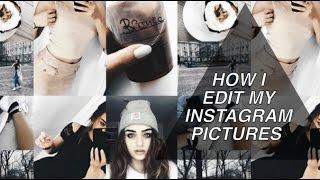 HOW I EDIT MY INSTAGRAM PICTURES | Bianca.