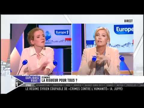 Débat : Marine Le Pen VS Nathalie Kosciusko-Morizet