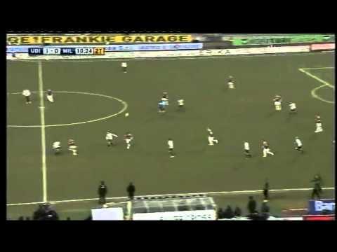 """La """"strepitosa"""" prestazione di Clarence Seedorf a Udine (11-02-2012)"""