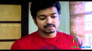 Velayudham - Vijay appearing on HIs Official Youtube - Talking about Velayudham Tamil Movie