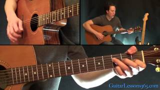 Johnny Cash - Hurt Guitar Lesson - Acoustic