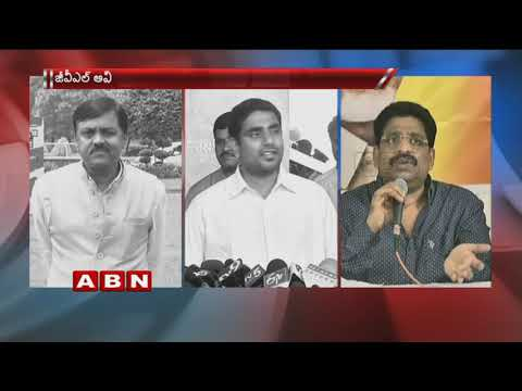 War of words between BJP MP GVL Narasimha Rao and TDP Leaders