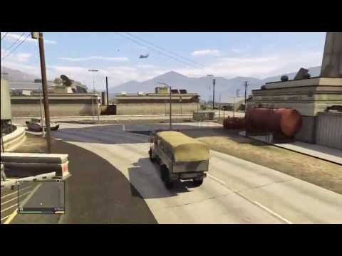 GTA 5: SECRET HIDDEN MILITARY ARMY TRUCK (Barracks HVY) Gameplay Review