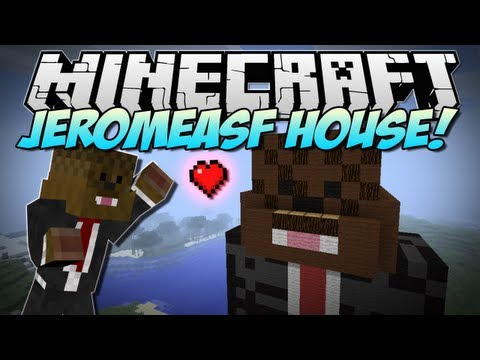 Minecraft JEROMEASF HOUSE Build Showcase
