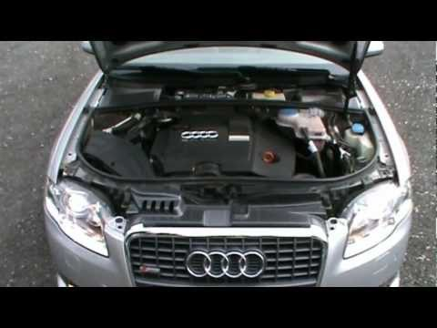 2007  Audi A4 2.0 TDI DPF S-LINE Review.Start Up. Engine. and In Depth Tour