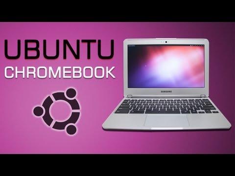 Ubuntu on Samsung Google Chromebook