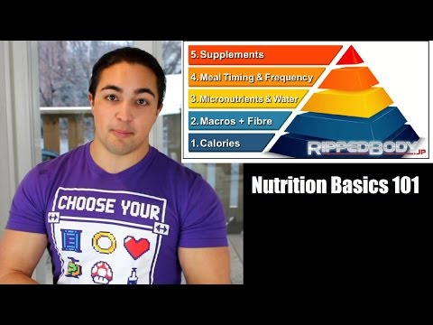NUTRITION BASICS 101: Calories, Macros, Micros, Meal Frequency & Supplements