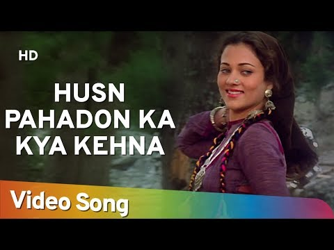 Husn Pahadon Ka Kya Kehna - Mandakini - Rajiv Kapoor - Ram Teri Ganga Maili - Old Hindi Hits video