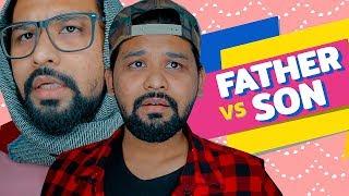 বাপ vs পোলা ( Father Vs Son )   Raseltopu   Bangla comedy video   Bangla Funny Video 2019
