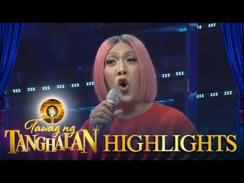 Tawag ng Tanghalan: Vice Ganda's interpretation of