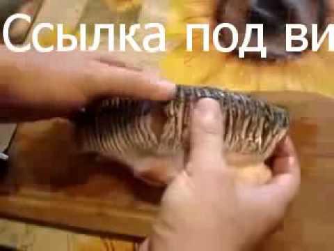 Как приготовить нашинковать очень костлявую рыбу красноперку губан, карась, окунь