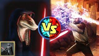 Star Wars Versus: Großimperator Darth Jar Jar Binks VS. Kyle Katarn - Star Wars Basis Versus #19