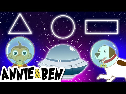 The Planet Song - Learn Shapes with Spaceship | More Nursery Rhymes Songs and Baby Songs for Kids