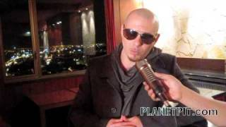 Pitbull in Paris-Speaks on the Reggaeton..