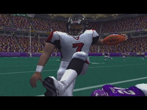 MADDEN 2004 (PS2) MIKE VICK VS RANDY MOSS - RETRO GAME OF THE DAY