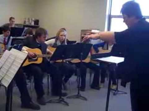 The Luther Preparatory School Guitar Ensemble - 02/23/2014