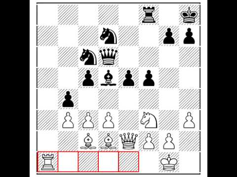 MANika LIRika -- Urban noise and chess -- Grob, Henry VS Lasker, Emanuel - Zuerich 1934 0-1