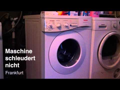 Waschmaschine schleudert nicht - YouTube
