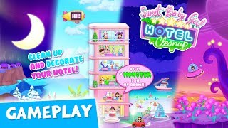 Crazy Hotel Dash! Sweet Baby Girl Hotel Cleanup Gameplay | TutoTOONS Cartoons & Games for Kids