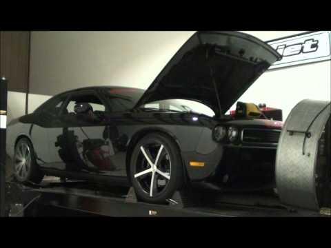 2013 Challenger 5.7L HEMI Chassis Dyno Comparison - Stock Versus