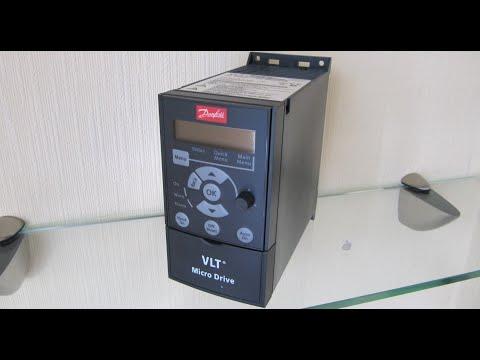 🔴Danfoss VLT Micro Drive FC-51 Настройка преобразователя частоты для работы с вентилятором👍