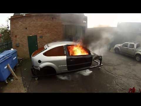 LIFELINE - extinguishing safety issues in Motorsport
