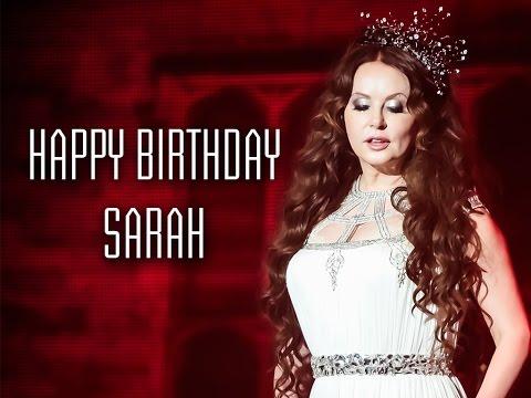 Happy Birthday Sarah Brightman (2014)