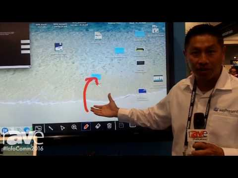 InfoComm 2016: wePresent Features Its 2000 Presentation System