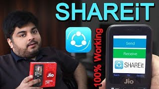 How To Use SHAREit In JioPhone | Send Or Share Files To Jio Phone | Step by Step Guide in Hindi