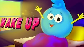 Wake Up Song | Good Morning Song | Nursery Rhymes Songs For Children | Kids Rhyme By Baby Shapes