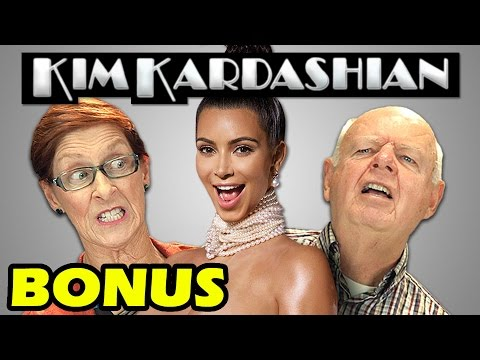 Elders React to Kim Kardashian (Bonus #48)