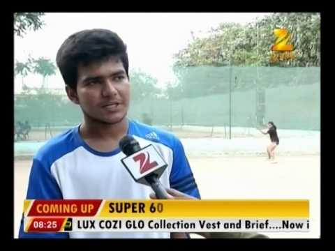 Students training for Lawn Tennis in Patna: News Story @ 8:00 AM