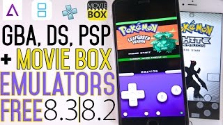 How To Install GBA, PSP, NDS Emulator + Movie Box FREE on iOS 8.3 & 8.2 No Jailbreak + GBA4iOS