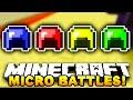 Minecraft - MICRO BATTLES!
