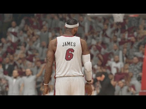 Lebron James Game Winning Buzzer Beater NBA Finals Game 1 NBA 2K14 XB1 My Career