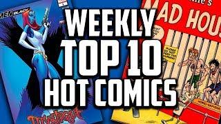 Hot Top 10 Comic Books On The Rise - NOV (Week 5) 2018