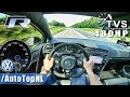 VW Golf R MK7 480HP AUTOBAHN POV ACCELERATION SPEED By AutoTopNL mp3