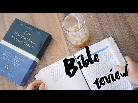 ESV MacArthur Study Bible Review