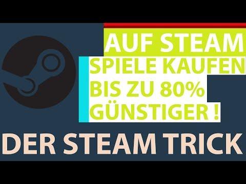 Auf Steam Spiele kaufen um bis zu 80% günstiger - Ich zeig euch den Trick !