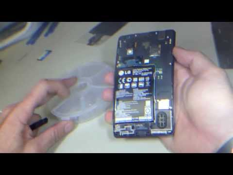LG Optimus G LS-970 E970 Screen LCD replacement Complete Process - www.254Repair.com