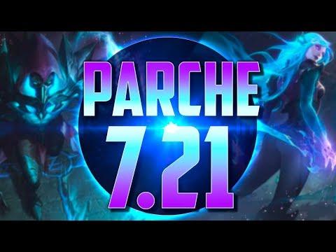 EL ÚLTIMO PARCHE S7   Parche 7.21 (League of Legends)