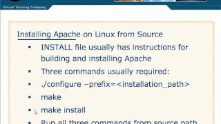 Apache Tutorial