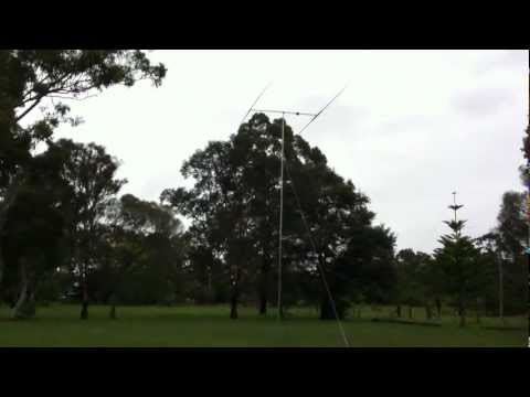 John Moyle 2012 field day by the Hellenic Amateur Radio Association of Australia