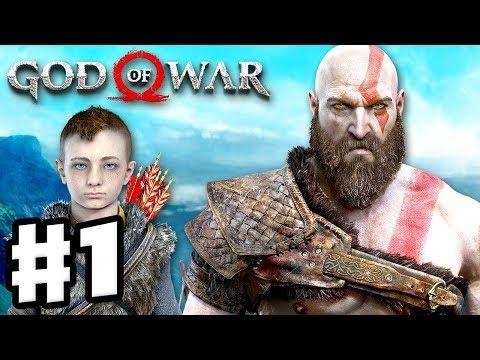 God of War - Gameplay Walkthrough Part 1 - Kratos and Atreus! (God of War 4) thumbnail
